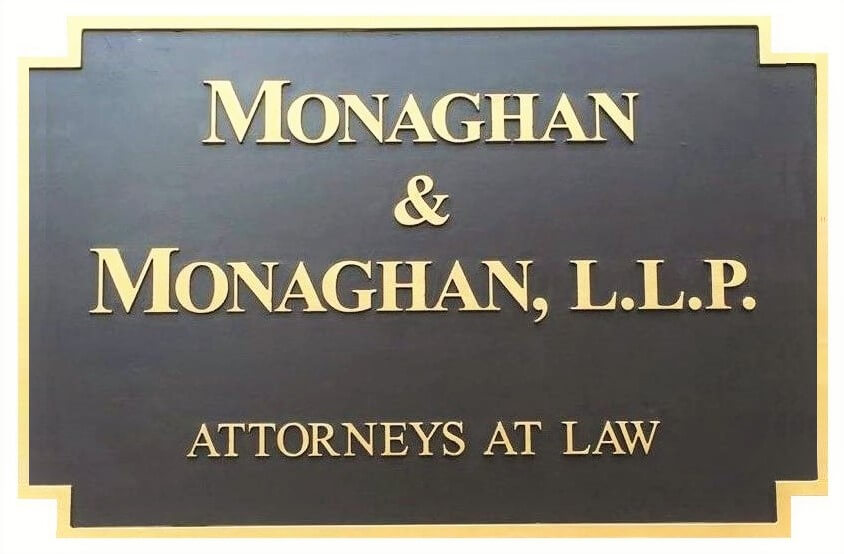 Monaghan Attorney Building Sign Workers' Compensation Attorneys