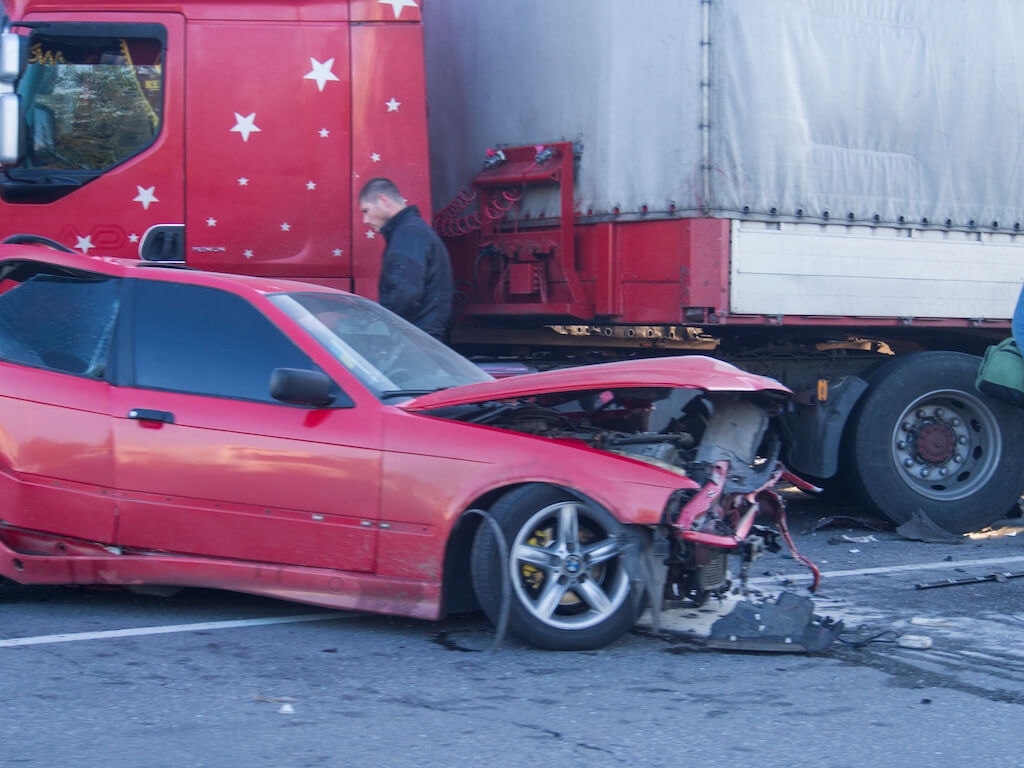 Hurt truck accident with car uniontown pa attorney
